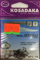 Крючки Kosadaka OTAKU 3303 BN № 8
