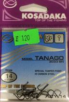 Крючки Kosadaka TANAGO 3033 BN № 14