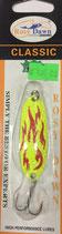 Блесна форелевая планирующая Rosy Dawn Classic 7 гр., 57 мм  Цвет 001, подложка - серебряный