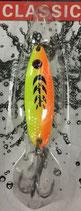 Блесна  Rosy Dawn Classic 3,5 гр., 34 мм  Цвет 007, подложка - лимонный