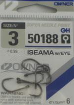 Крючки OWNER серия 50188 №3 ISEAMA