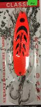 Блесна форелевая планирующая Rosy Dawn Classic 17 гр., 77 мм  Цвет 007-Y, подложка - лимонный