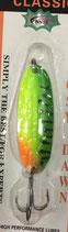 Блесна форелевая планирующая Rosy Dawn Classic 7 гр., 57 мм  Цвет 003, подложка - малиновый