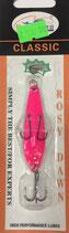 Блесна форелевая планирующая Rosy Dawn Classic 7 гр., 57 мм  Цвет 012, подложка - серебряный