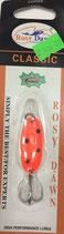 Блесна форелевая планирующая Rosy Dawn Classic 4 гр., 38 мм  Цвет 117, подложка - морковный