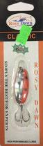 Блесна форелевая планирующая Rosy Dawn Classic 4 гр., 38 мм  Цвет 124, подложка - морковный