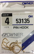 Крючки OWNER 53135 №4 PIN HOOK