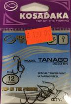 Крючки Kosadaka TANAGO 3033 BN № 12