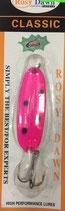 Блесна форелевая планирующая Rosy Dawn Classic 7 гр., 57 мм  Цвет 102, подложка - ярко-зеленый