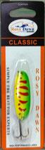 Блесна форелевая планирующая Rosy Dawn Classic 7 гр., 57 мм  Цвет 017а, подложка - белый металлик