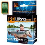 Плетеный шнур PE ULTRA ELITE М-8 DARK GREEN 0,12
