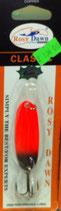Блесна форелевая планирующая Rosy Dawn Classic 7 гр., 57 мм  Цвет 017, подложка - серебристый