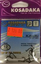 Крючки Kosadaka KAVAI 3301 BN № 12