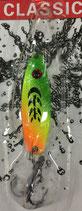 Блесна  Rosy Dawn Classic 3,5 гр., 34 мм  Цвет 004, подложка - лимонный