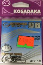 Крючки Kosadaka RYADO 1050 BN № 10