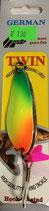 Блесна двойная GERMAN TWIN вес 18 г., цвет 98,    модель 5222-180