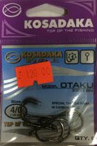 Крючки Kosadaka OTAKU 3303 BN № 4/0