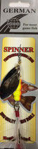 Блесна  GERMAN SPINNER ВЕРТУШКА вес 15 г., цвет 115 модель 5157-5#