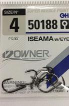 Крючки OWNER серия 50188 №4 ISEAMA
