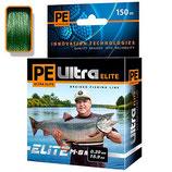 Плетеный шнур PE ULTRA ELITE М-8 DARK GREEN 0,18