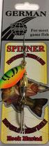 Блесна  GERMAN SPINNER ВЕРТУШКА вес 5 г., цвет 13 модель 5150-2#