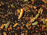 Orangenplätzchen, Schwarzteemischung, aromatisiert