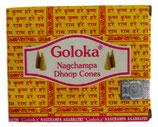 Incienso en cono Goloka