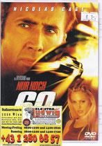 DVD nur noch 60 Sekunden Nicolas Cage
