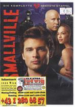 DVD Smallville die komplette Staffel 6
