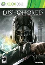 X360 Dishonored Die Maske des Zorns FSK18