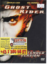 DVD Ghostrider Extended Version
