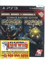 PS3 Bioshock Teil 1 und 2 Rapture Edition