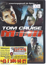 DVD M:i:III Mission Impossible 3 Tom Cruise