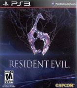 PS3 Resident Evil 6 FSK18