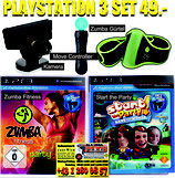 PS3 Zumba Party Set