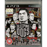 PS3 Sleeping Dogs FSK18