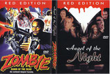 DVD Red Edition Angel of the Night und Zombie 1