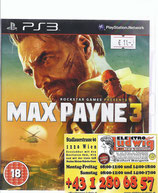 PS3 Max Payne 3 18er Version Uncut