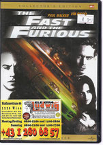 DVD The Fast and the Furious