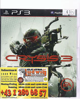 PS3 Crysis 3 FSK18