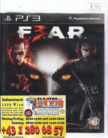 PS3 Fear 3 FSK18
