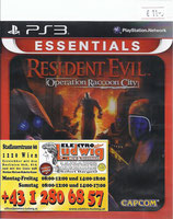 PS3 Resident Evil Operation Racoon City FSK18
