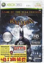 X360 Batman Arkham Asylum 3D