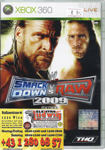X360 Smackdown vs Raw 2009