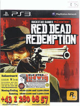 PS3 Red Dead Redemption FSK18