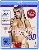 BD Die Welt der Lust: Erotische Phantasien - Volume 3 2D und 3D