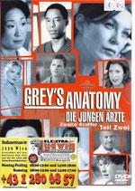 DVD Greys Anatomie Staffel 2 Teil 2