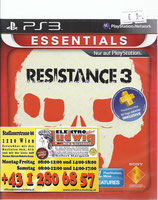 PS3 Resistance 3 FSK18