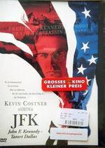DVD JFK Tatort Dallas Kevin Costner
