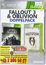 X360 Fallout 3 & Elder Scrolls IV Oblivion